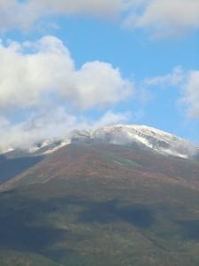 13日の鳥海山