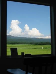 翠の窓から「夏雲」